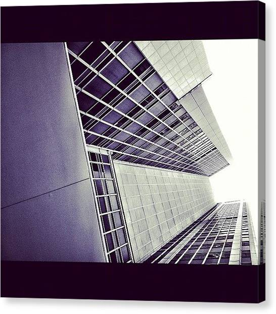 Offices Canvas Print - #building #city #sky #architecture by Glen Offereins
