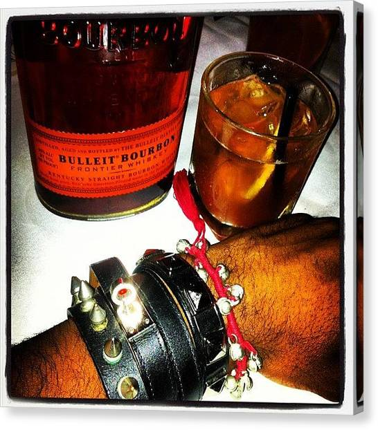 Punk Canvas Print - #bulleit #hermes #urbanoutfitters by Prepster Punk