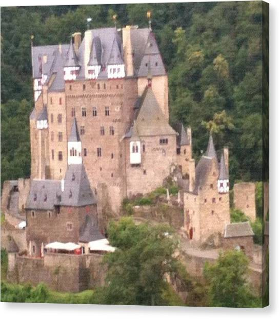 Medieval Canvas Print - Burg Eltz by Steven Black