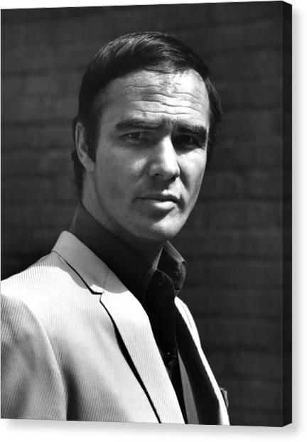 Burt Reynolds Canvas Print - Burt Reynolds, 1970 by Everett