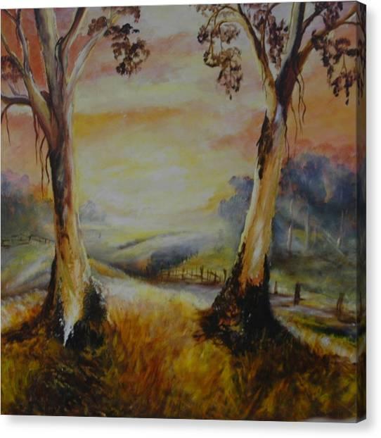 Bush Sunrise Canvas Print
