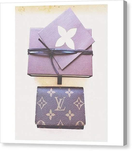 Presents Canvas Print - Business Card Holder by Ann K