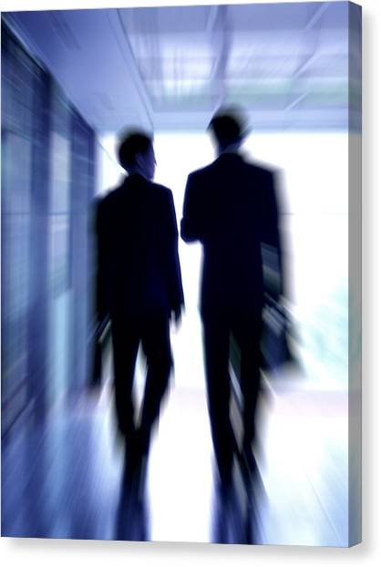 Businessmen Canvas Print by Pasieka