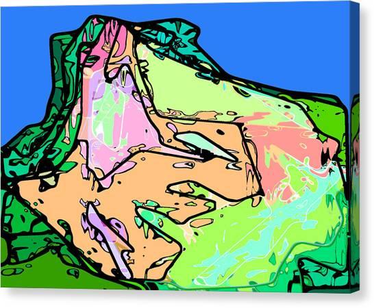 Butte Canvas Print