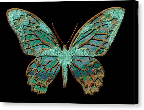 Butterflies By Design Canvas Print by Edie Kynard