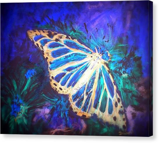 Butterfly Beauty 2 Canvas Print by Raymond Doward