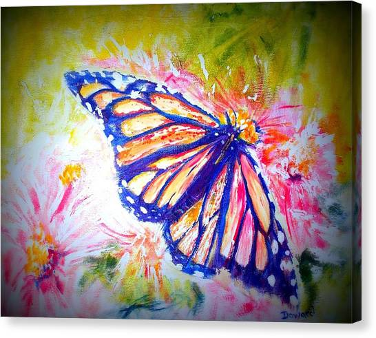 Butterfly Beauty 3 Canvas Print by Raymond Doward