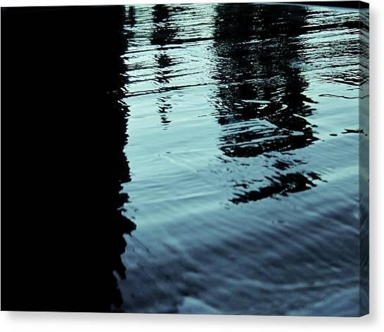 ..by The Lake.. Canvas Print by Adolfo hector Penas alvarado