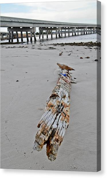 By The Sea Canvas Print by Brenda Becker