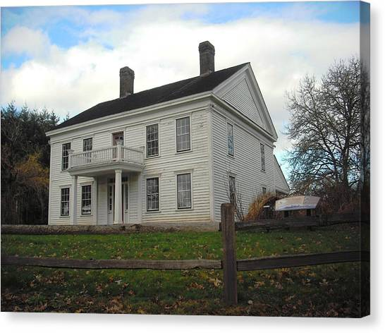 Bybee Howell House Canvas Print
