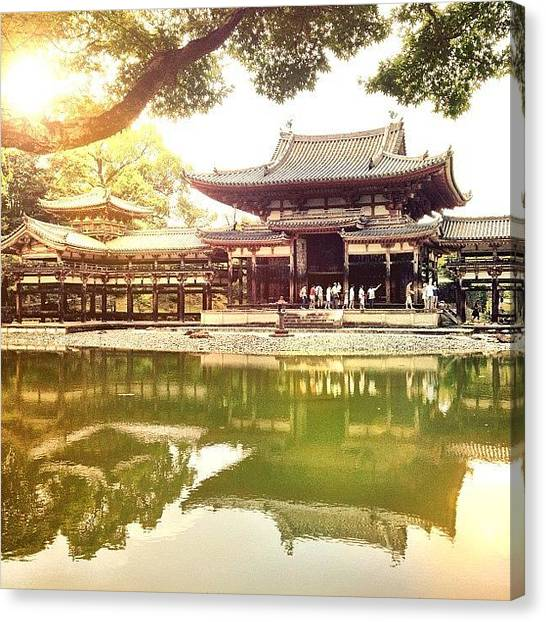 Judaism Canvas Print - Byodo-in Temple In Japan. #byodoin by Brad Kremer