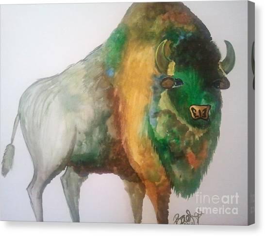 University Of Colorado Canvas Print - Byson by Stacy Baer