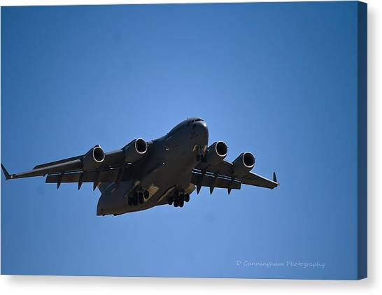 C-17 In Flight Canvas Print