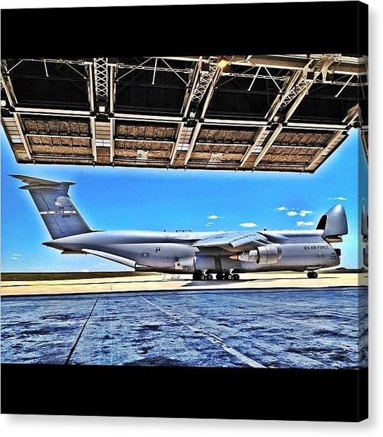 Wolves Canvas Print - C-5 Galaxy In Hdr Ready To Eat Some by Wolf Stumpf