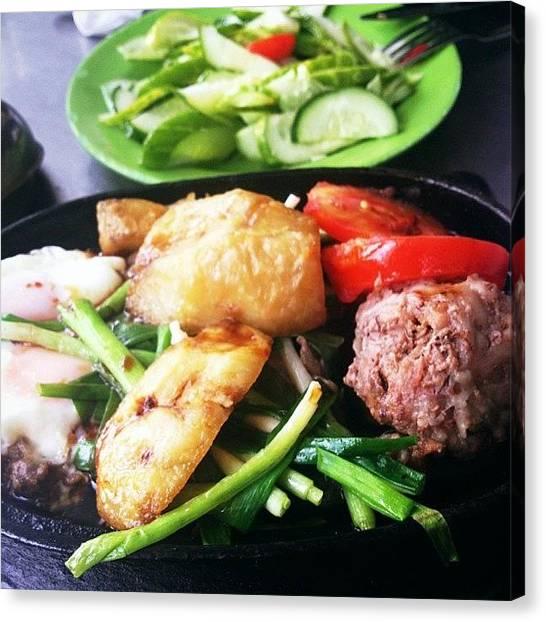 Meals Canvas Print - Cả Nhà Cùng ăn. Lễ Tết Là by Tran Ha