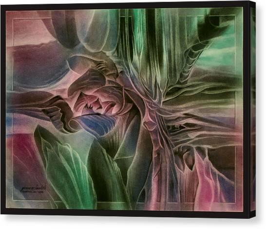 Cactusbudcomp 2010 Canvas Print