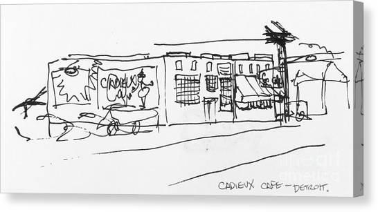 Cadieux Cafe Canvas Print