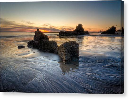 Cali Sunset Canvas Print by Brian Leon