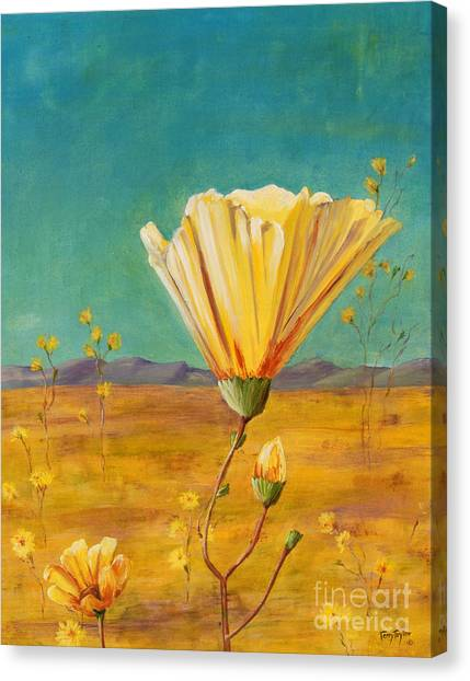 California Desert Closeup Canvas Print