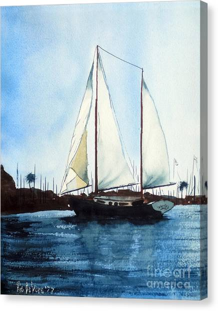 California Dreamin IIi Canvas Print
