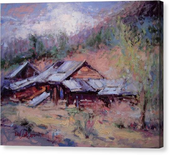 California Ghost Town Canvas Print by R W Goetting