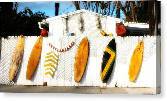 California Surf Shack Canvas Print