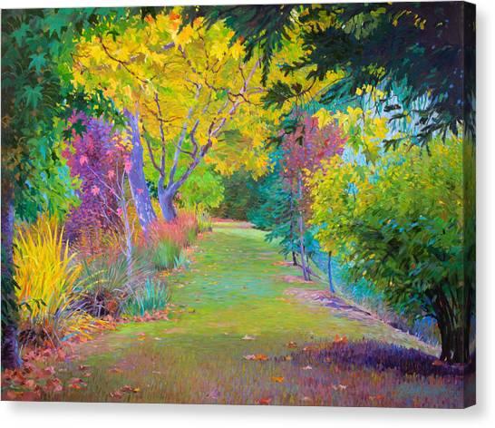 Calistoga Fall Canvas Print