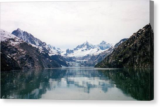 Calm Glacier Bay Canvas Print