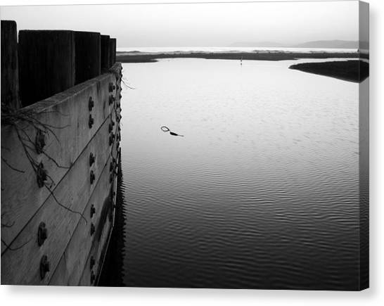 Calm Water In Cambria Canvas Print