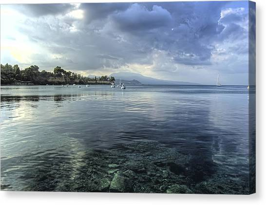 Calm Waters Canvas Print by Stamatis Gr