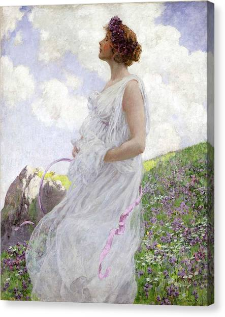 Women Canvas Print - Calypso by George Hitchcock