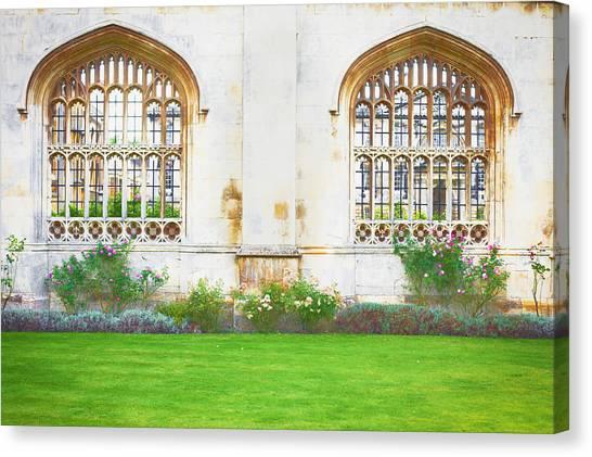 Academic Art Canvas Print - Cambridge Architecture by Tom Gowanlock