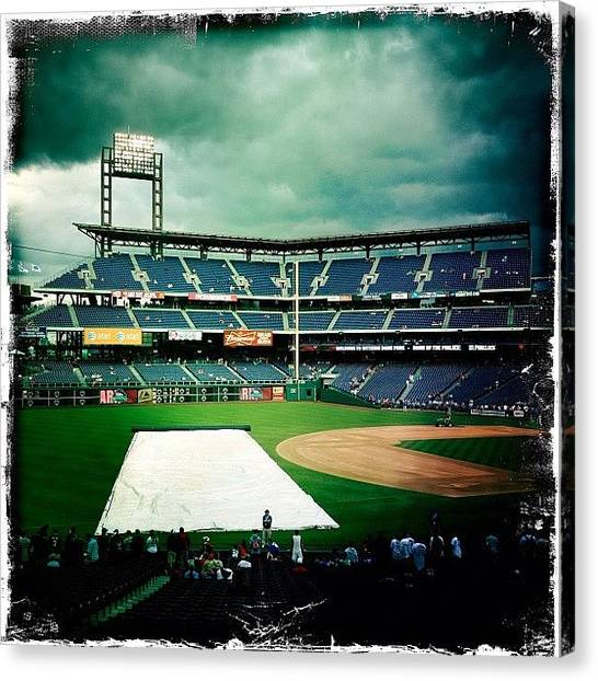 Stadiums Canvas Print - #cameraphone #4s #iphonetography by Tom Gari Gallery-Three-Photography
