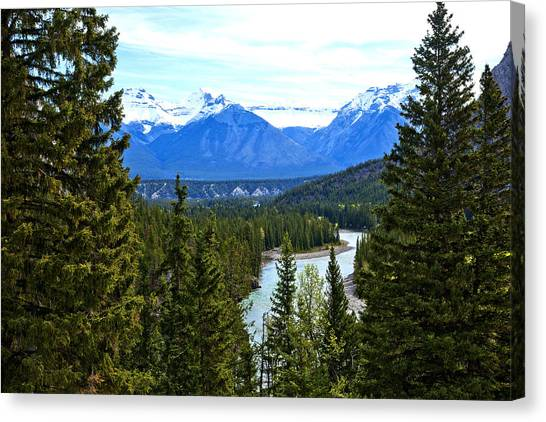 Canadian Lake 1691 Canvas Print by Larry Roberson