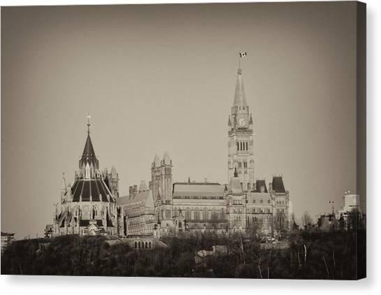 Canadiana Canvas Print