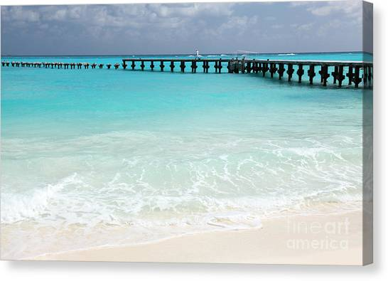 Cancun Canvas Print