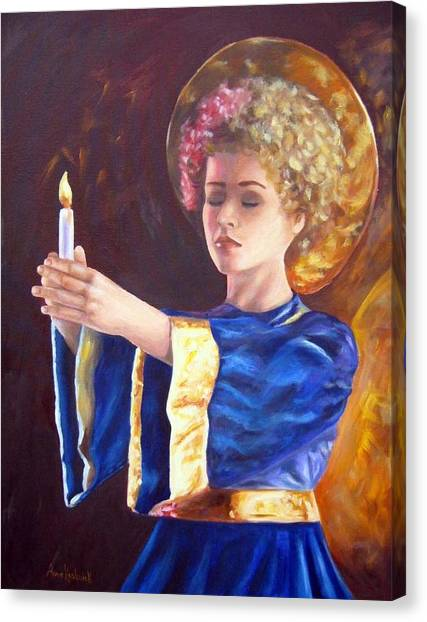 Canvas Print - Candlemass by Anne Kushnick
