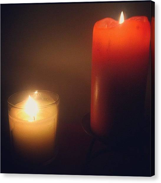 College Canvas Print - #candles #college #photography #art by Nic Foster 💩💨