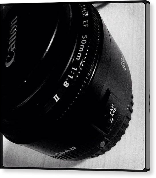 Tools Canvas Print - #canon #prime #50mm #glass #love #life by Meeshi Sense