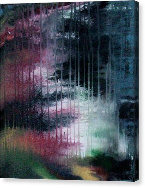 Can't See The Forest For The Rain Canvas Print
