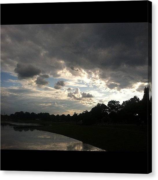 Kings Canvas Print - #cantgetenough Of #skyshots #sky by Cai King-Young