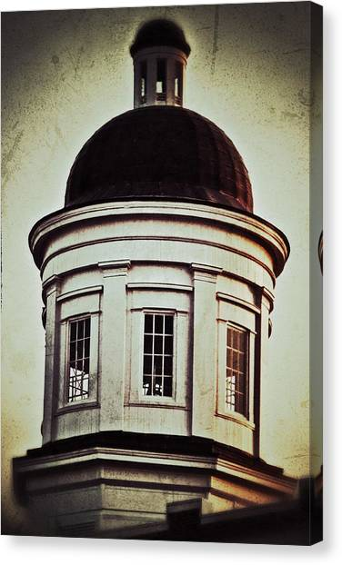 Canton Courthouse Dome Canvas Print
