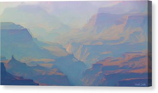 Etherial Canvas Print - Canyon Close Up by Heidi Smith