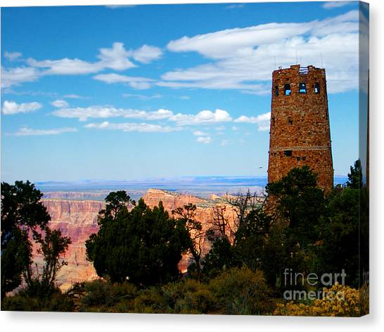 Spring Canvas Print - Canyon Look Out by The Kepharts