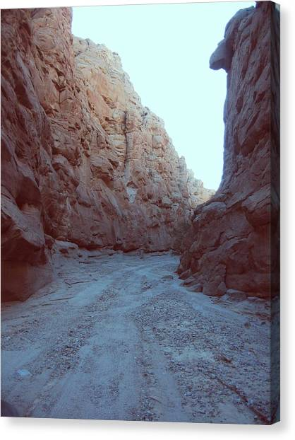 Death Valley Canvas Print - Canyon by Naxart Studio