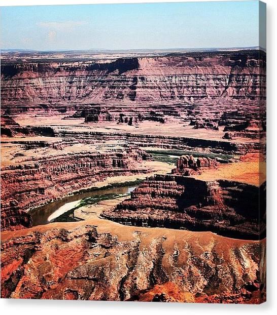 Utah Canvas Print - Canyonland by Luisa Azzolini