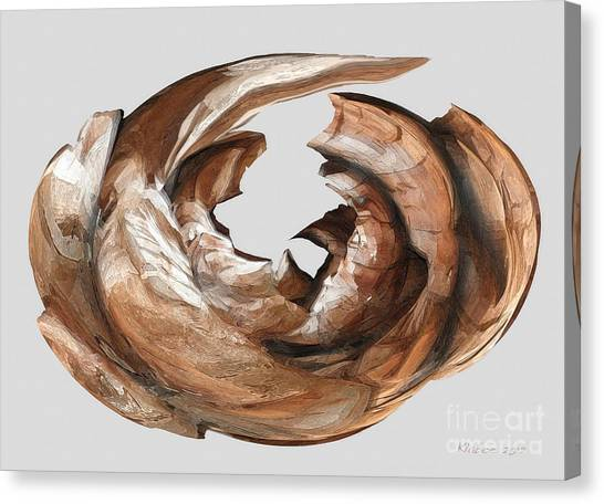 Cape Driftwood One Canvas Print
