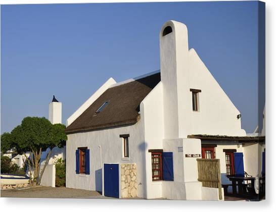Cape Dutch Architecture Canvas Prints Fine Art America