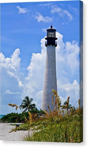 Cape Florida Lighthouse Canvas Print by Julio n Brenda JnB