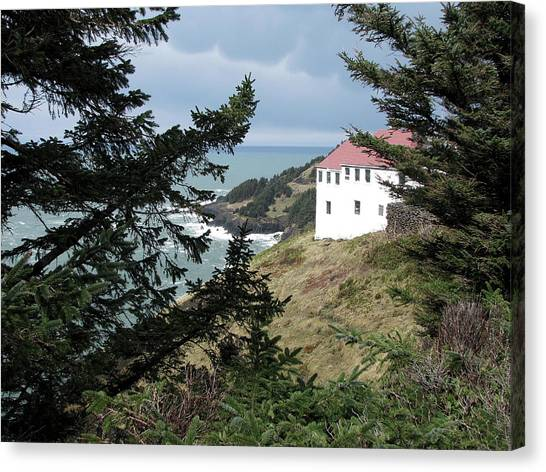 Cape Foulweather Clouds Canvas Print